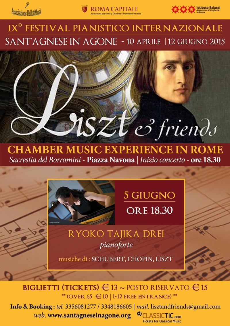 Concerto Pianoforte Roma 5 Giugno 2015
